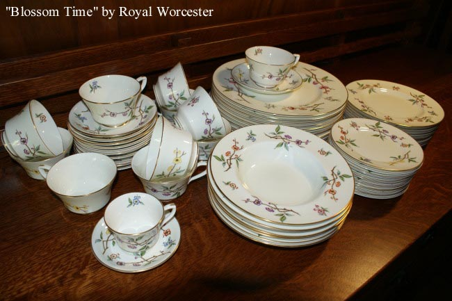 Blossom Time by Royal Worcester