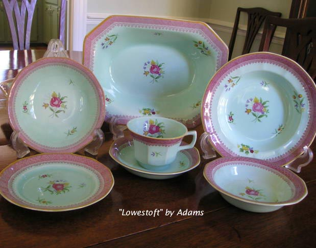 Lowestoft by Adams China> 		</TD> 	</TR> 	<TR> 		<TD WIDTH=