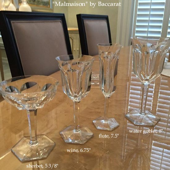 Malmaison by Baccarat crystal
