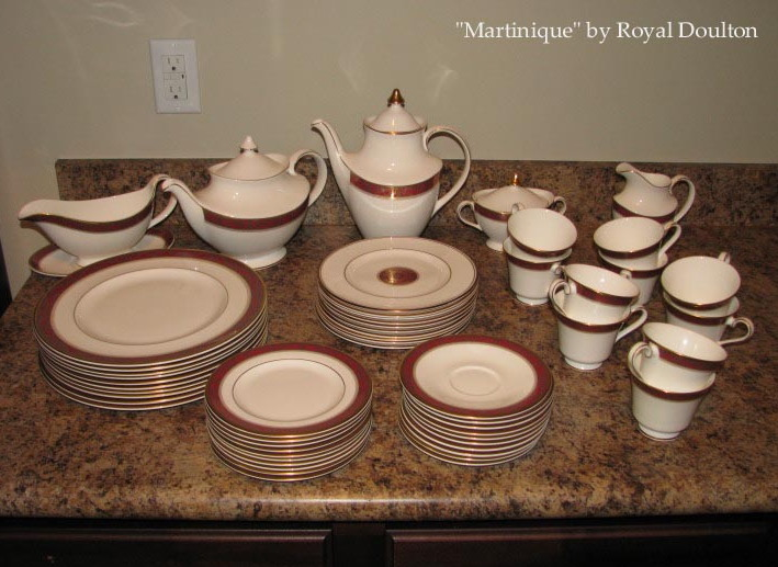 Martinique Royal Doulton china